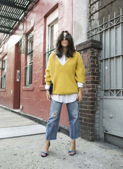 How to style mustard yellow