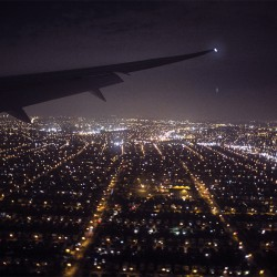 Arriving in New York City