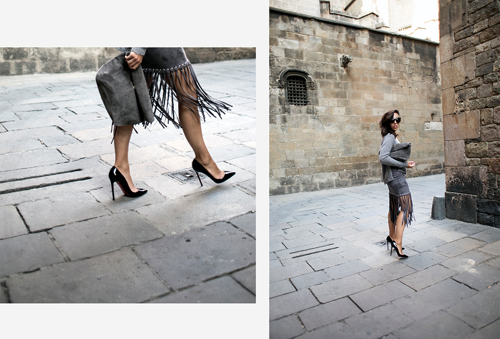 sania-claus-demina-outfit-barcelona-grey-skirt-gina-tricot-christian-louboutin-pigalle-120-mm-pumps-shoes_2