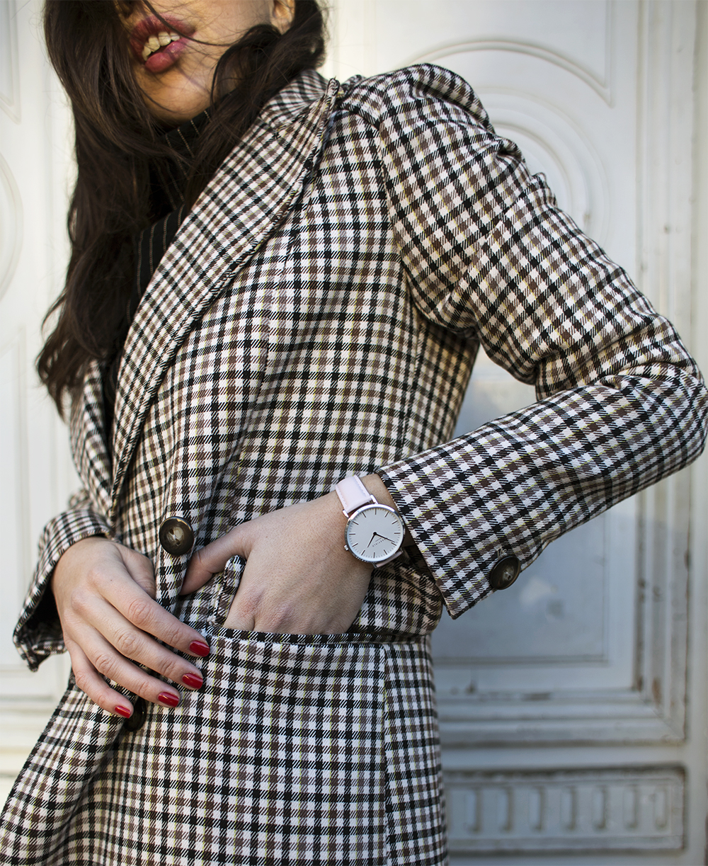 sania claus demina rosefield watches baum und pferdgarten check coat ss17 aw17_1