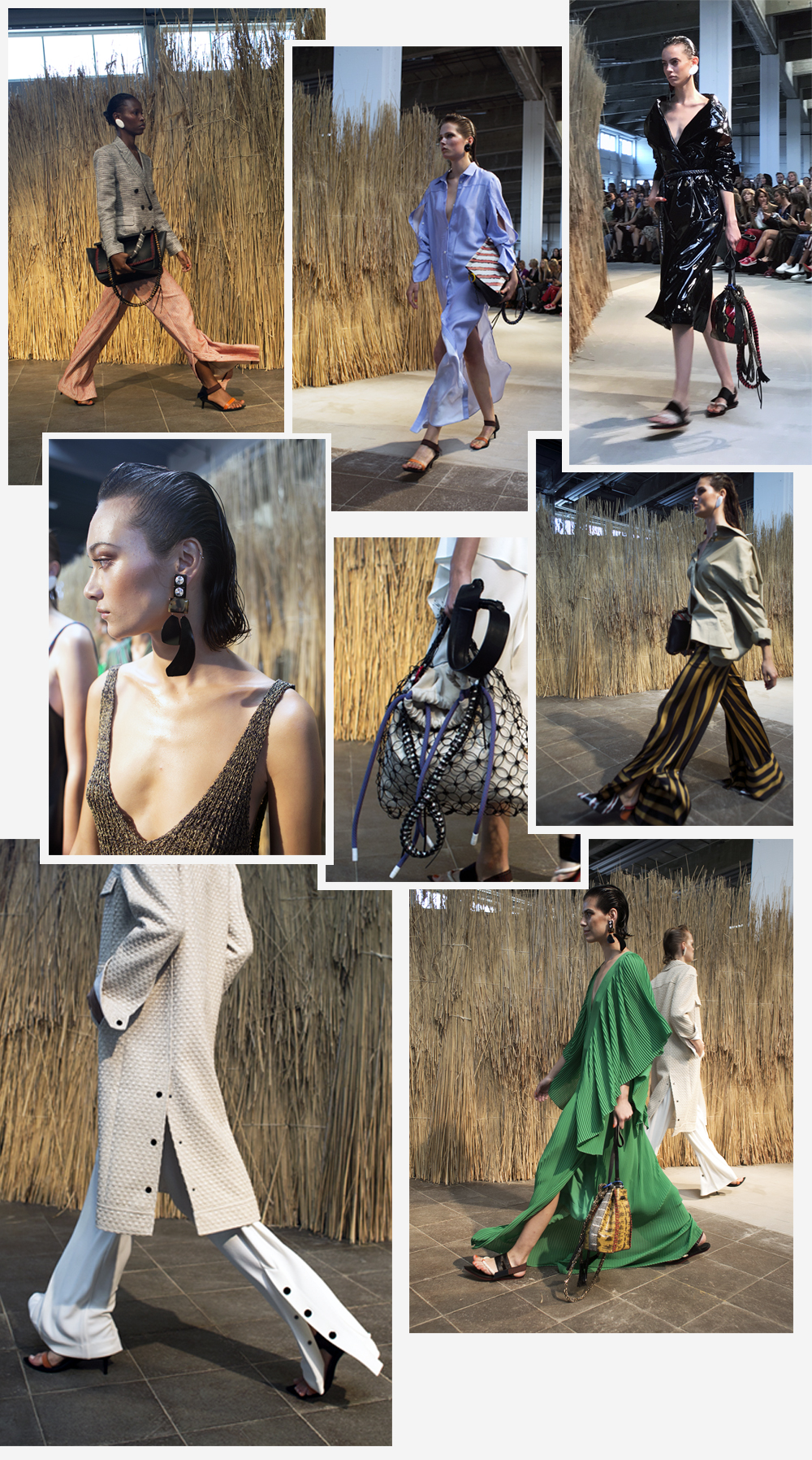 by malene birger ss18 copenhagen fashion week sania claus demina