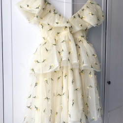 yellow dream dress
